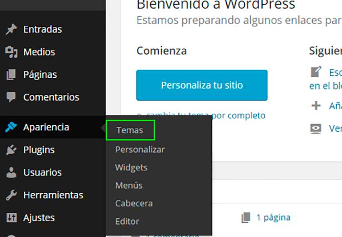 WordPress Tutorial: Instalar themes | OpenWebinars.net